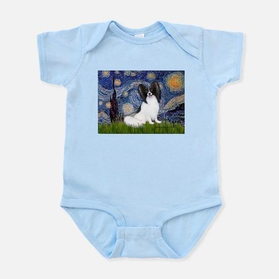 Starry Night Papillon Infant Bodysuit