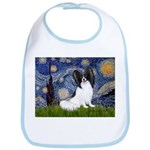Starry Night Papillon Bib
