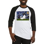 Starry Night Papillon Baseball Jersey