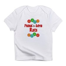 Peace Love Rats Infant T-Shirt