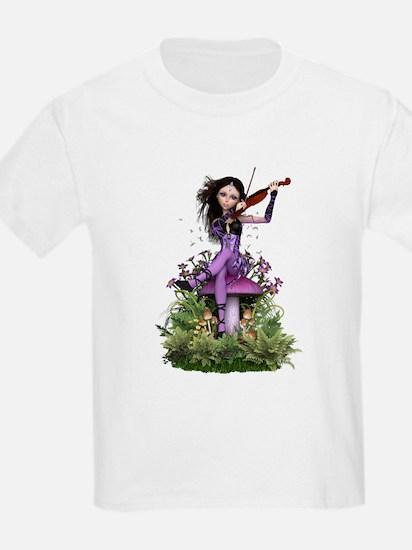 Amethyst Fairy ~ Summer Melody T-Shirt