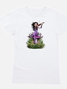 Amethyst Fairy ~ Summer Melody Girl's Tee