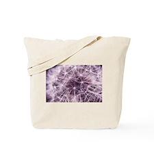 Pink Dandelion Tote Bag