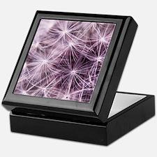 Pink Dandelion Keepsake Box