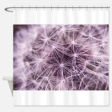 Nature Dandelion Shower Curtains Nature Dandelion Fabric Shower