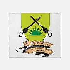 HMFWS Logo1 Throw Blanket