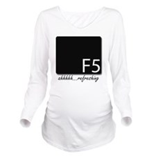 F5 Long Sleeve Maternity T-Shirt