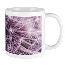 Pink Dandelion Mugs
