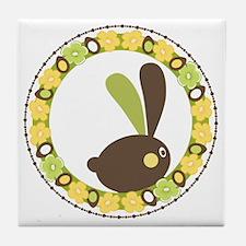 Easter Rabbit Tile Coaster