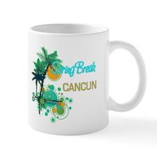 Palm Trees Circles Spring Break CANCUN Mugs