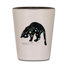 Whimsical Cat Shot Glass
