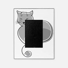 Whimsical Cat Picture Frame