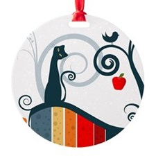 Whimsical and Birds Ornament