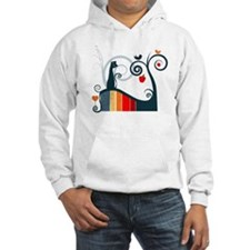 Whimsical and Birds Hoodie