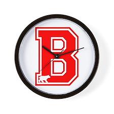 BearCorp BigB_RE Wall Clock