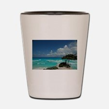 beach vacation Shot Glass