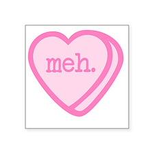 Meh, Valentine's Day Sticker