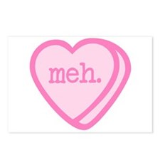 Meh, Valentine's Day Postcards (Package of 8)