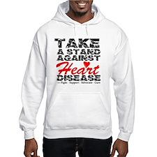 Take a Stand Heart Disease Hoodie