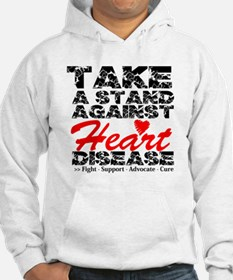 Take a Stand Heart Disease Hoodie