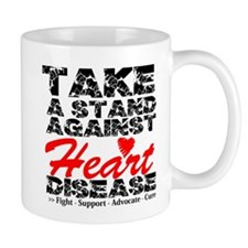 Take a Stand Heart Disease Mug