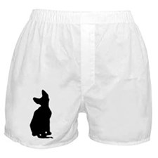 cornish rex silhouette Boxer Shorts