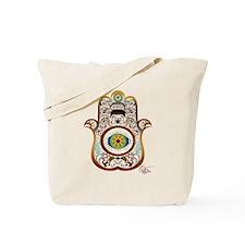 Hamsa/Copper Tote Bag