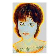 Irish Music Heroes Postcards (Package of 8)