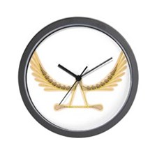Soaring Lacrosse Wall Clock