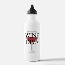 Wine Diva Water Bottle