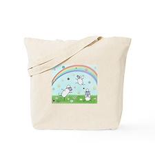 Donut Rain Tote Bag