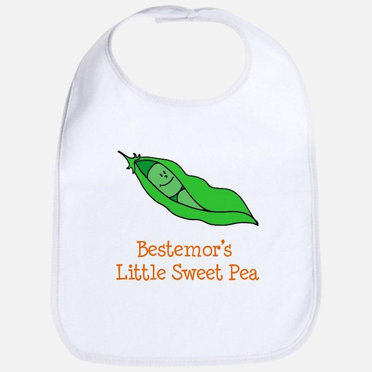 Bestemor's Sweet Pea Bib