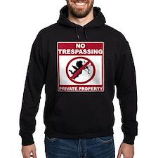 No Trespassing Anti-Valentine's Day Hoodie