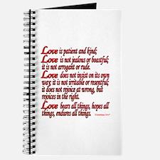 1 Corinthians 13:4-7 Journal