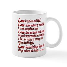 1 Corinthians 13:4-7 Mugs
