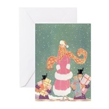 Christmas Shopping in th Greeting Cards (Pk of 20)