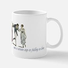 Cute Jane austen dancing Mug