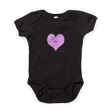 Love Star Baby Bodysuit