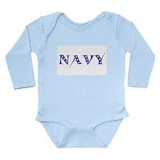 Cute Military Long Sleeve Infant Bodysuit