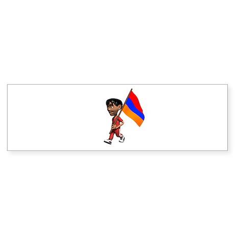 Armenia Boy Bumper Sticker