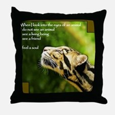 Clouded Soul Throw Pillow