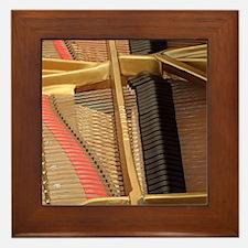 Inside a Piano Framed Tile