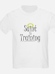 Saint in Training Kids T-Shirt