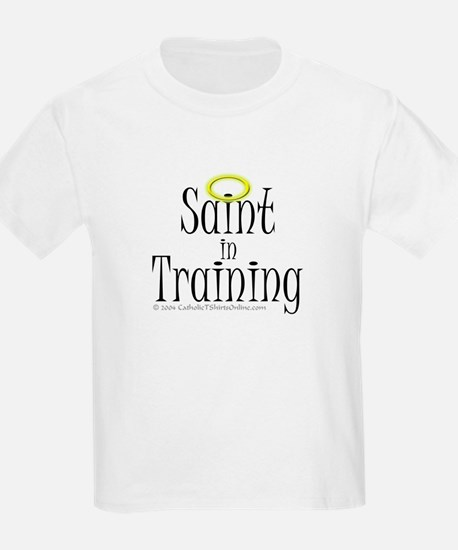 Saint in Training Kids T-Shirt