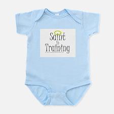 Saint in Training Infant Creeper