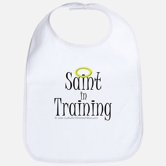 Saint in Training Bib
