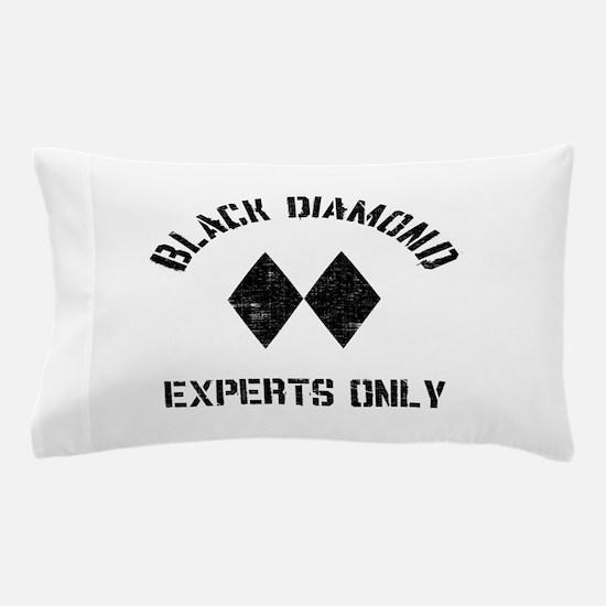 Black diamond Pillow Case