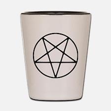 Funny Satanic Shot Glass