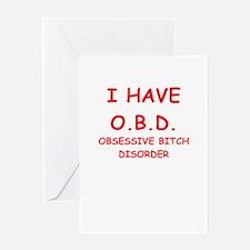 obd Greeting Cards