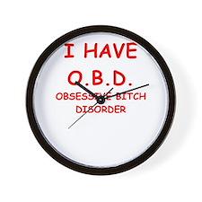 obd Wall Clock